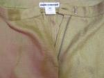 Designer trouser detail