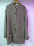 Mohair Cardigan Coat