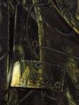 Velvet jacket detail