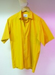 Yellow cotton shirt L