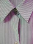 Grey stripe shirt detail