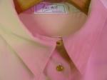 Pink shirt detail